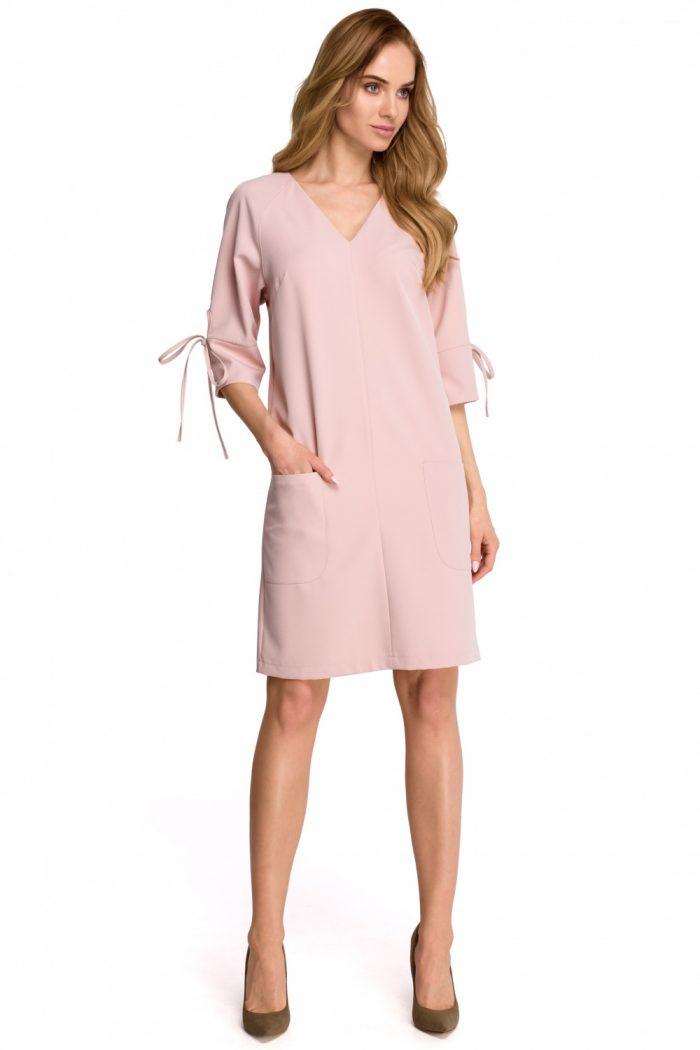 Rochie de zi Style roz