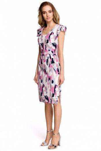 Rochie de zi Style multicolor