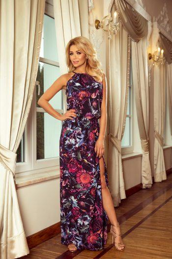 Rochie de zi Numoco violet