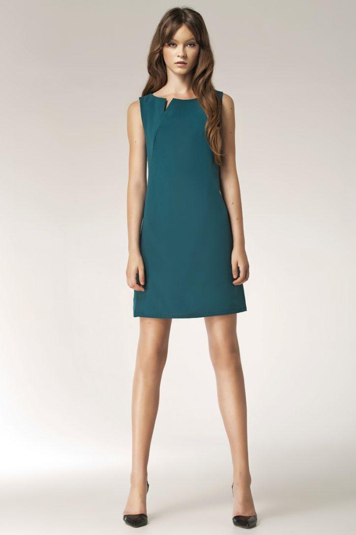 Rochie de zi Nife verde
