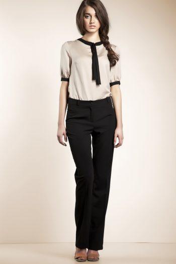 Pantaloni de damă Nife negru