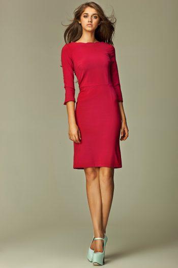 Rochie de zi Nife roşu