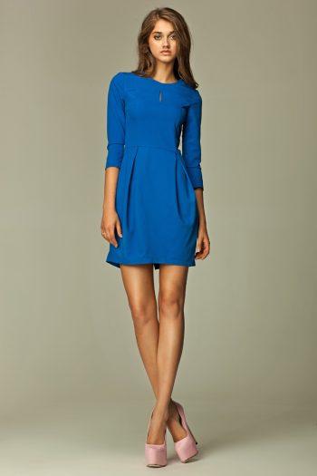 Rochie de zi Nife albastru