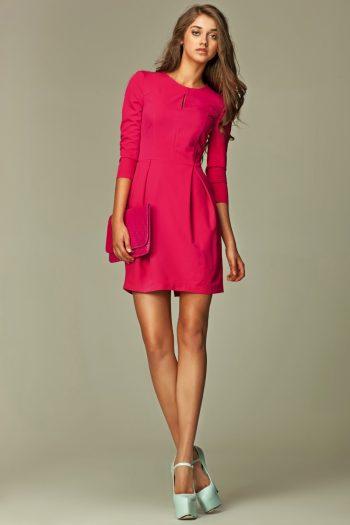 Rochie de zi Nife roz