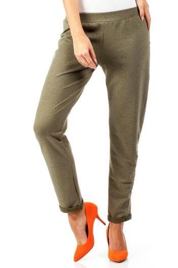 Pantaloni de trening Moe verde