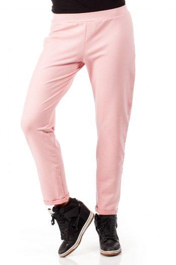 Pantaloni de trening Moe roz