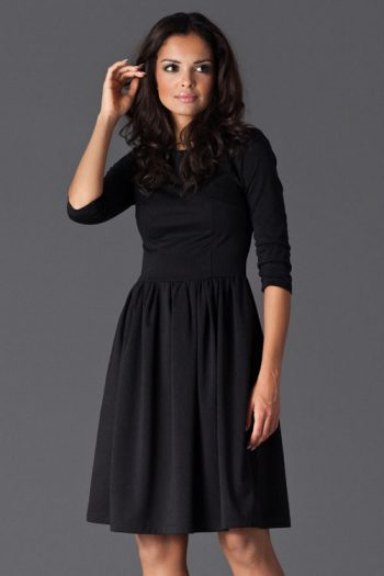 Rochie de zi Figl negru