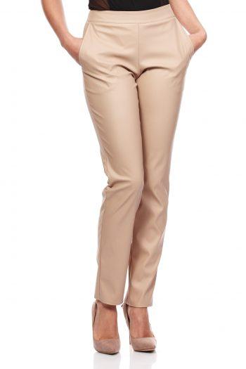Pantaloni de damă Moe bej