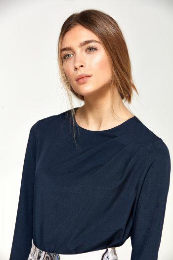 Bluză Nife Bleumarin