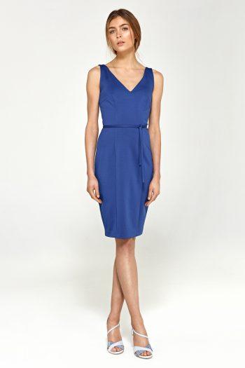 Rochie elegantă Nife albastru