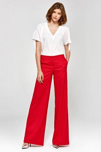 Pantaloni lungi Colett roşu