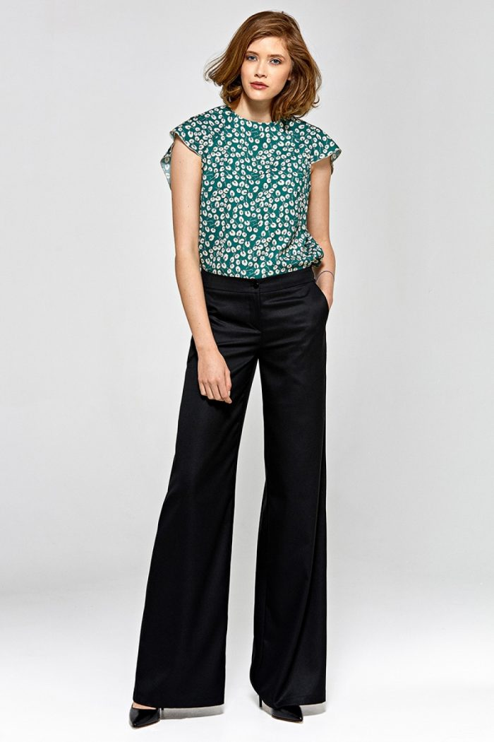 Pantaloni lungi Colett negru