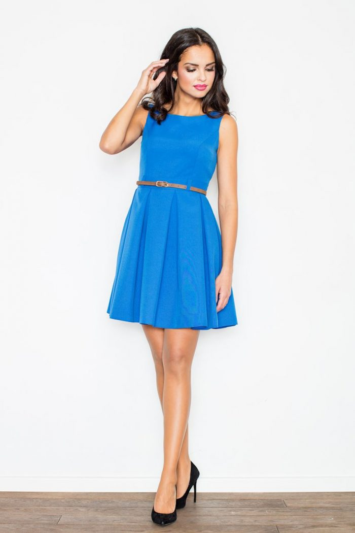 Rochie elegantă Figl albastru