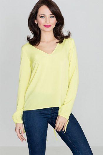 Bluză Lenitif galben