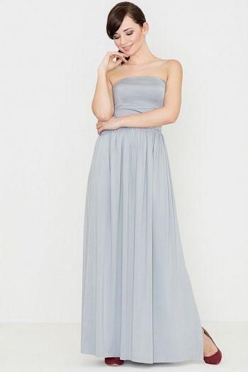 Rochie lungă Lenitif gri