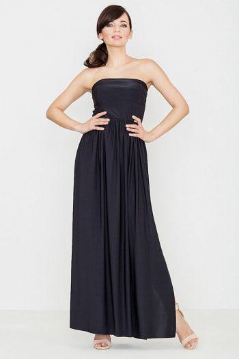 Rochie lungă Lenitif negru