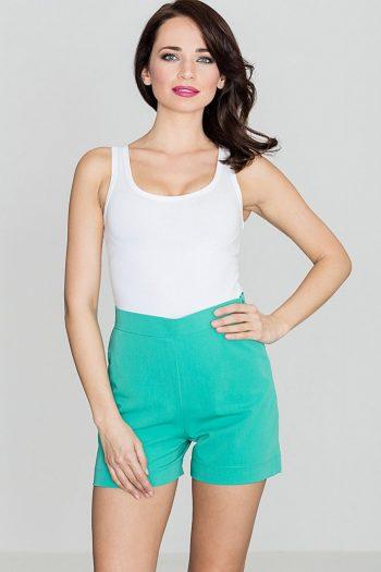 Pantaloni scurţi Lenitif verde