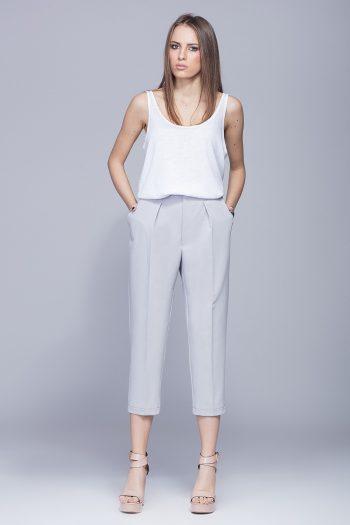Pantaloni de damă Eharmony gri