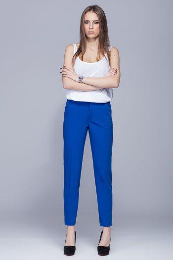 Pantaloni de damă Eharmony albastru