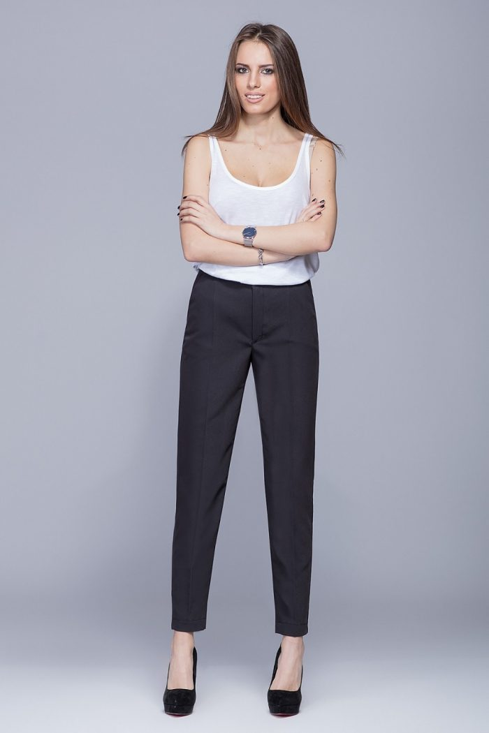 Pantaloni de damă Eharmony negru