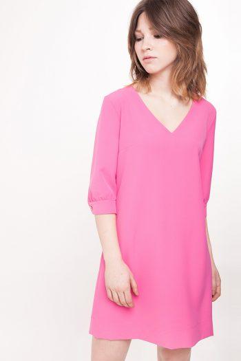 Rochie de zi ECHO roz