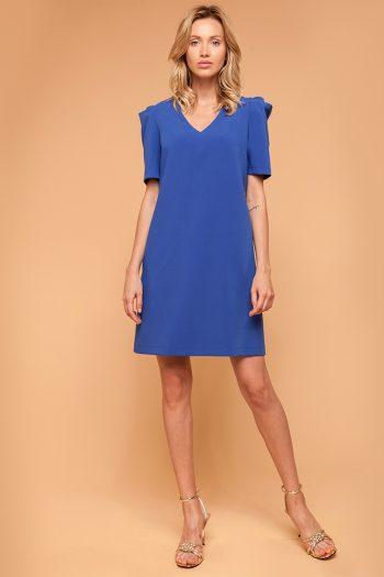 Rochie elegantă ECHO albastru
