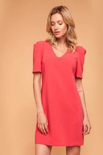 Rochie elegantă ECHO roz