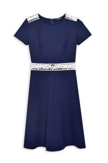Rochie elegantă ECHO Bleumarin