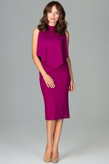Rochie elegantă Lenitif violet