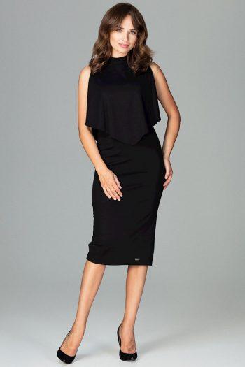 Rochie elegantă Lenitif negru