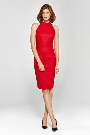 Rochie elegantă Colett roşu