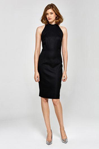 Rochie elegantă Colett negru
