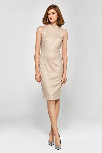 Rochie elegantă Colett bej