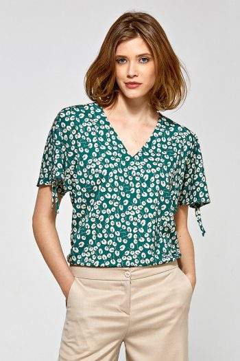 Bluză Colett verde