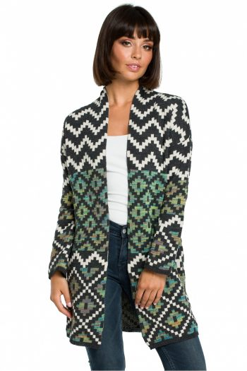 Cardigan BE Knit multicolor