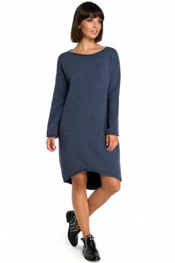 Rochie de zi BE Knit Bleumarin