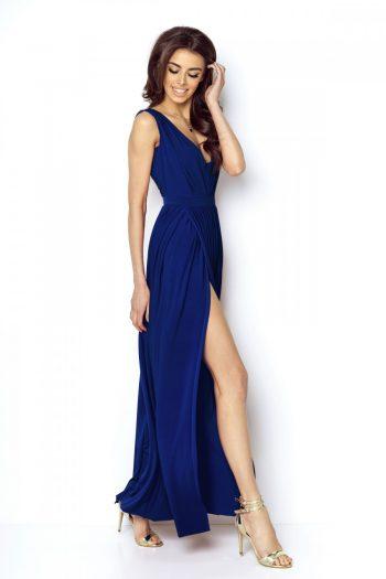Rochie lungă IVON albastru