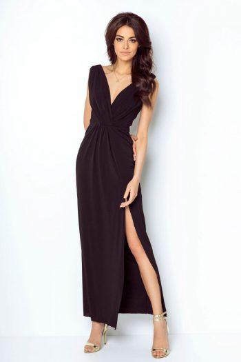 Rochie lungă IVON negru