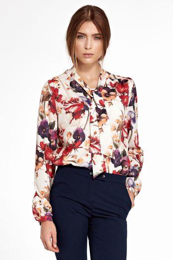 Bluză Nife multicolor