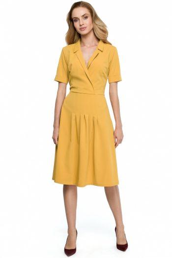 Rochie de zi Style galben