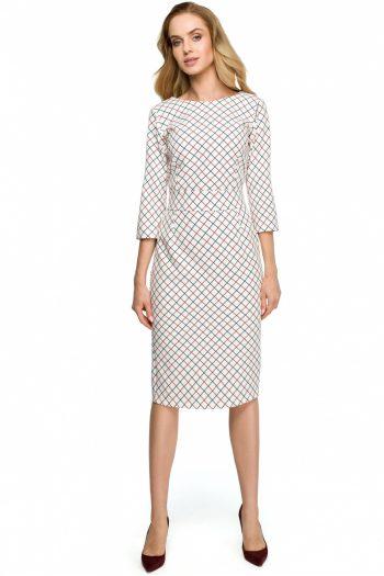 Rochie de zi Style alb
