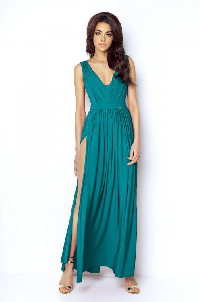 Rochie lungă IVON verde