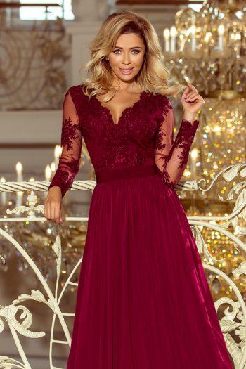 Rochie lungă Numoco roşu