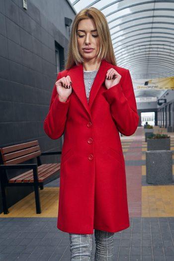 Palton Mattire roşu