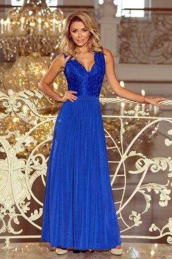 Rochie lungă Numoco albastru