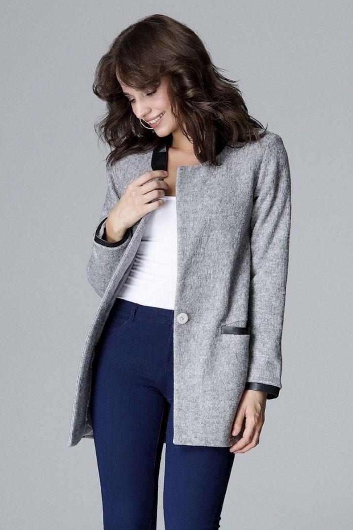 Jachetă Lenitif gri