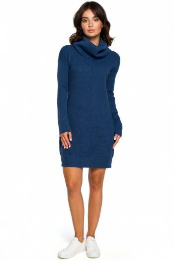 Rochie de zi BE Knit albastru