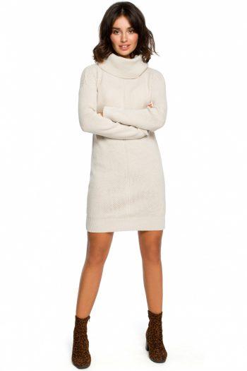 Rochie de zi BE Knit bej