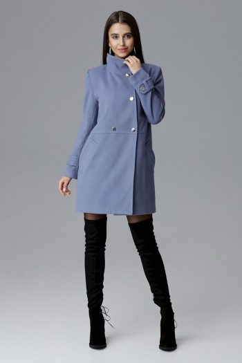 Palton Figl albastru
