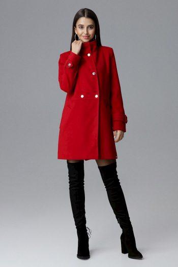 Palton Figl roşu